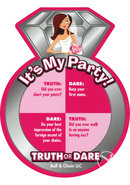 Bride To Be Truth Or Dare Coasters Party Game