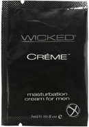 Wicked Creme Stroking And Massage Cream .10oz (144 Per Bag)