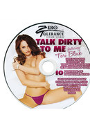 Zero Tolerance Talk Dirty To Me Tori Black Audio Cd