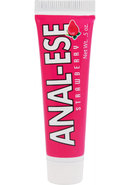 Anal-ese Flavored Desensitizing Anal Gel Strawberry .5 Ounce
