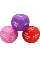 Girlie Nights Double Dare Dice Game