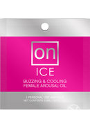 On Ice Buzzing And Cooling Female Arousal Oil .01 Ounce 24...