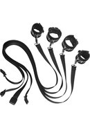 Frisky 8 Peice Restraint Set Black