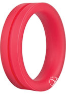 Ring O Pro Large Silicone Cockrings Waterproof Red 12 Each...