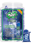 Wet Light Lquid Water Based Lubricant 10 Ml 120 Per Bowl