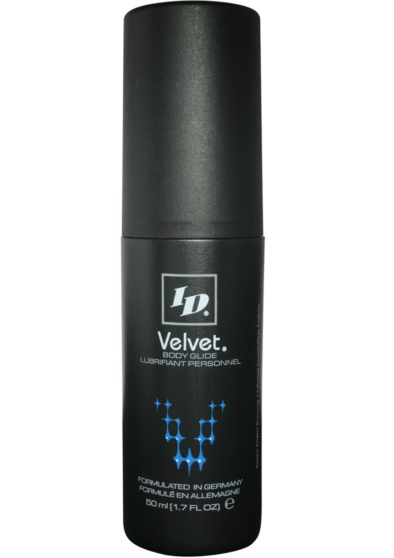 Id Velvet Silicone Lubricant Waterproof 1.7 Ounce