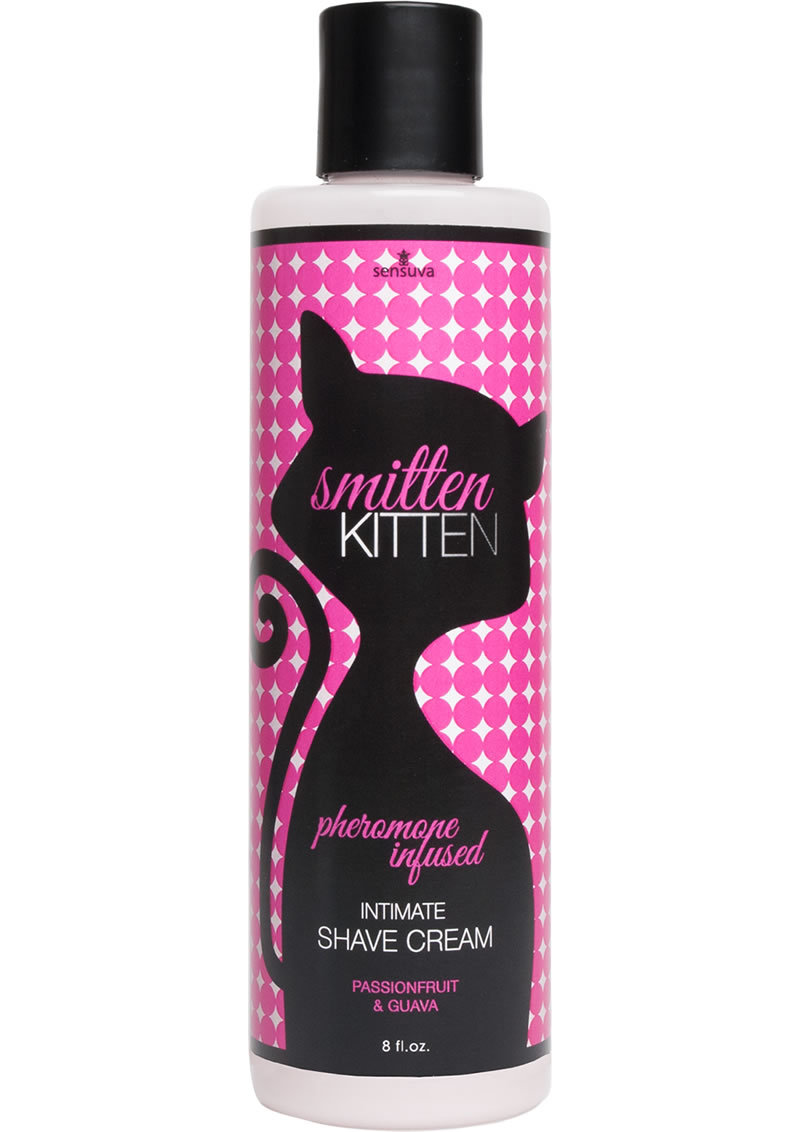 Smitten Pheromone Infused Intimate Shave Cream Passionfruit And Guava 8 Ounce