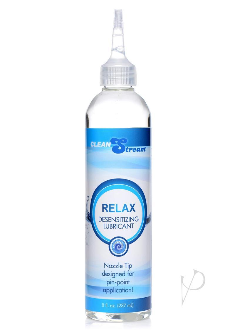 Cleanstream Relax Desensitizing Anal Lube With Dispensing Tip 8oz