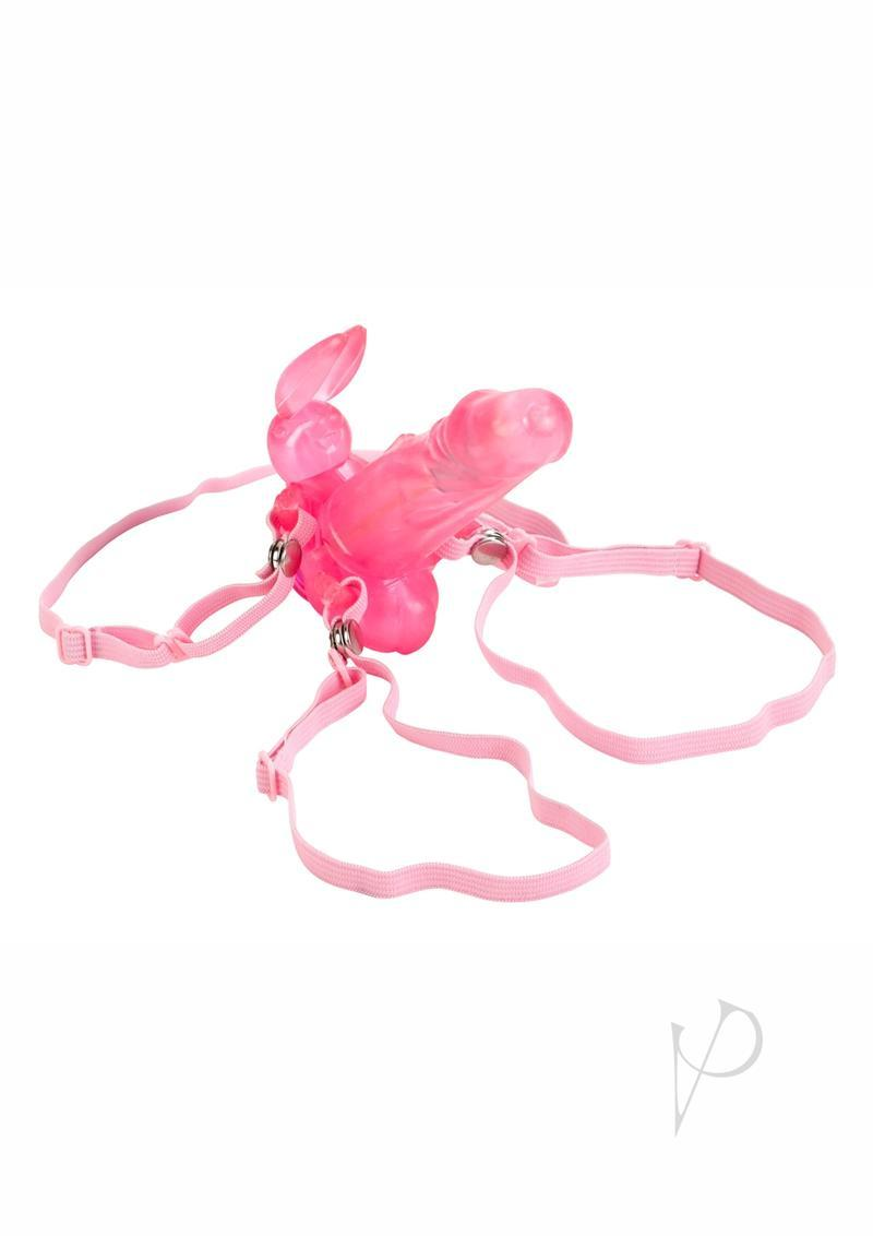 Waterproof Wireless Bunny With Removeable Straps - Pink